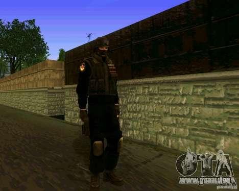 La peau des Forces spéciales ukrainiennes pour GTA San Andreas deuxième écran