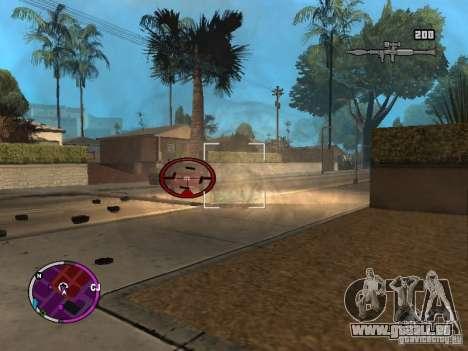 TBOGT HUD pour GTA San Andreas deuxième écran
