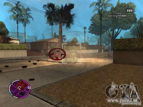 TBOGT HUD für GTA San Andreas zweiten Screenshot