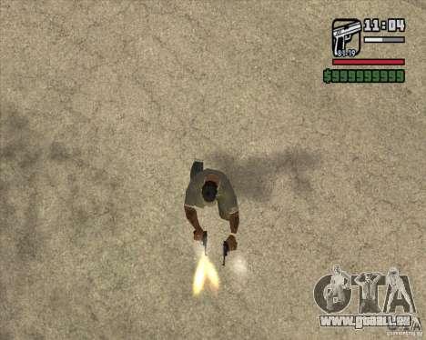 Pistolet Luger pour GTA San Andreas troisième écran