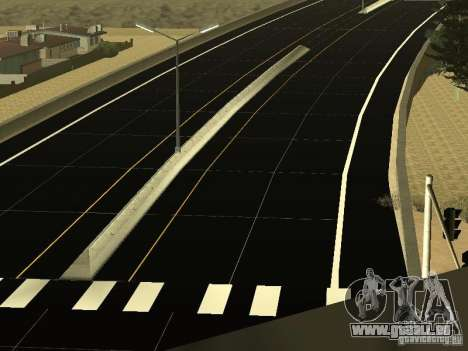 New Roads in San Andreas für GTA San Andreas dritten Screenshot