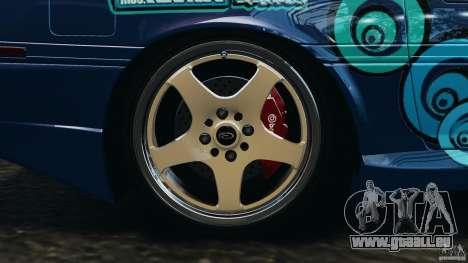 Toyota Supra 3.0 Turbo MK3 1992 v1.0 pour GTA 4 est une vue de dessous