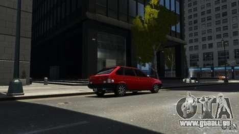 VAZ 2109 leichte tuning für GTA 4 linke Ansicht