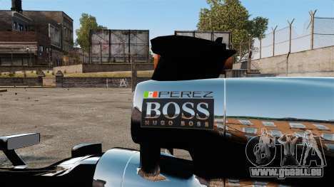 McLaren MP4-28 für GTA 4 hinten links Ansicht
