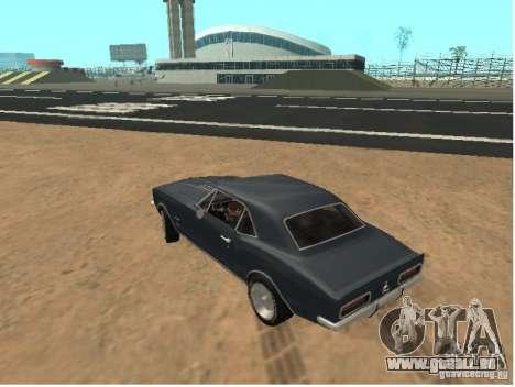 Chevrolet Camaro SS 396 Turbo-Jet pour GTA San Andreas laissé vue