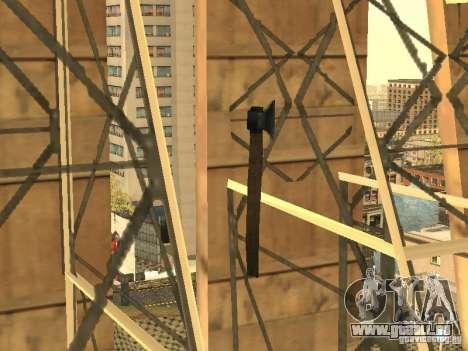 Axt für GTA San Andreas dritten Screenshot