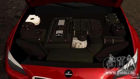 BMW M5 F10 2012 Hamann für GTA 4 Innenansicht