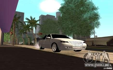 LADA PRIORA van tuning pour GTA San Andreas vue arrière
