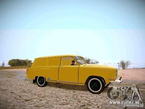 GAS 22 b Van für GTA San Andreas linke Ansicht