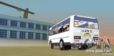 SILLON 32050R pour GTA Vice City sur la vue arrière gauche