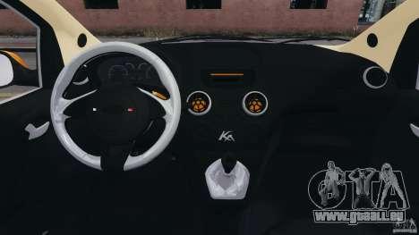 Ford Ka 2011 pour GTA 4 Vue arrière