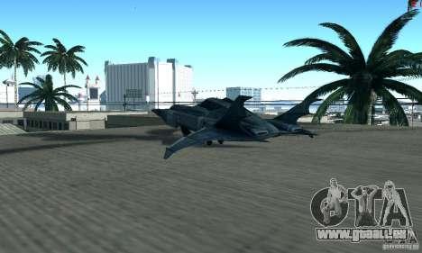 BatWing pour GTA San Andreas vue de droite