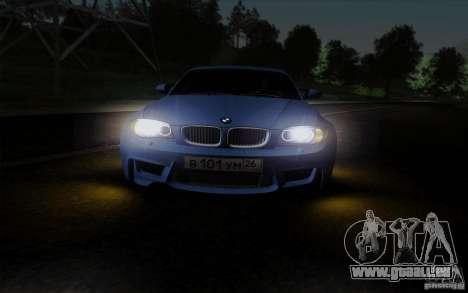 BMW 1M 2011 V3 pour GTA San Andreas vue de côté