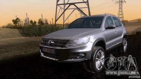 Volkswagen Tiguan 2012 pour GTA San Andreas vue arrière