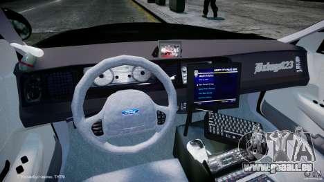 Ford Crown Victoria Massachusetts Police [ELS] pour GTA 4 est un droit