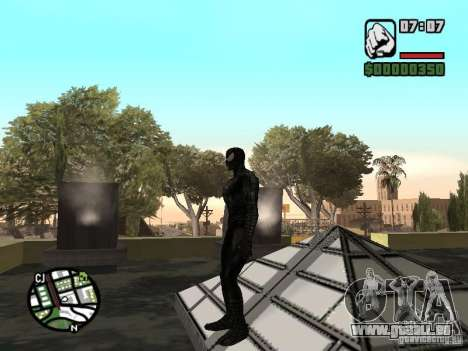 Spiderman Feind in Reflexion für GTA San Andreas her Screenshot