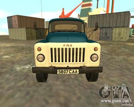 CAMION DE GAZ 53-12-3 pour GTA San Andreas vue de droite
