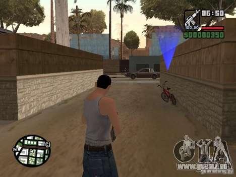 Haut für CJ-Cool guy für GTA San Andreas fünften Screenshot