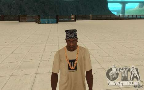 Bandana D12 pour GTA San Andreas troisième écran