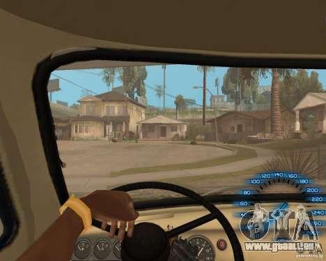 Hinter dem Lenkrad für GTA San Andreas zweiten Screenshot