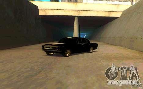 PLYMOUTH GAZ 2410 pour GTA San Andreas sur la vue arrière gauche
