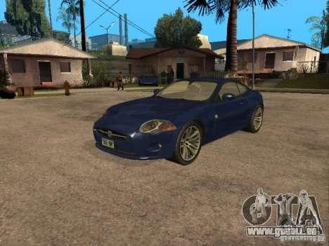 Jaguar XK für GTA San Andreas