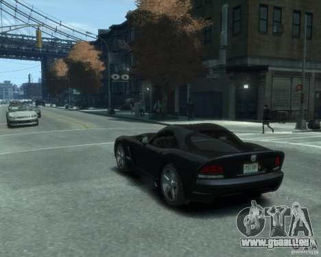 Dodge Viper srt-10 Coupe für GTA 4 linke Ansicht