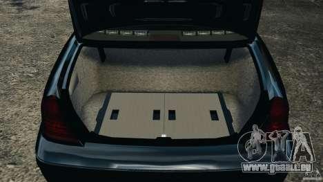 Ford Crown Victoria Police Unit [ELS] für GTA 4 Seitenansicht