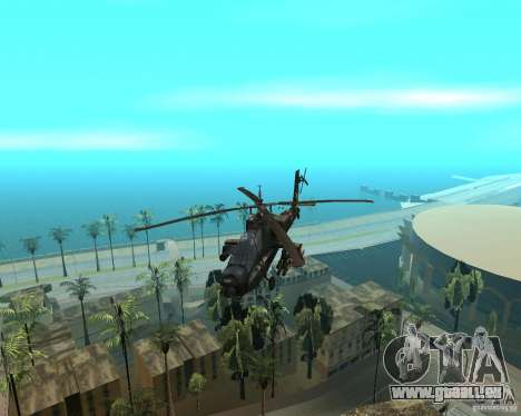 KA-50 Black Shark pour GTA San Andreas