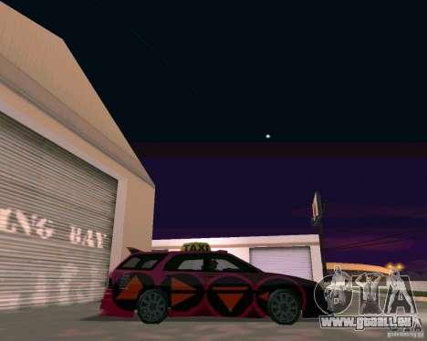 Stratum Tuned Taxi für GTA San Andreas rechten Ansicht