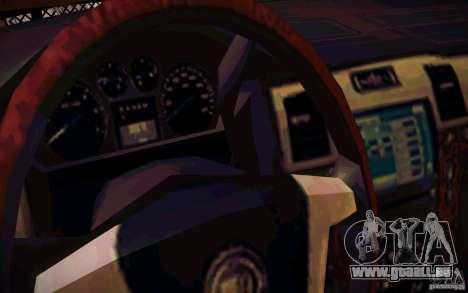 Nissan Fronter für GTA San Andreas obere Ansicht