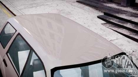 Subaru Forester v2.0 pour GTA 4 est une vue de dessous