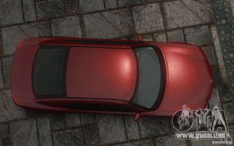 Dodge Charger RT Hemi 2008 für GTA 4 Unteransicht