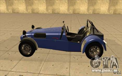 Caterham Superlight R500 für GTA San Andreas linke Ansicht