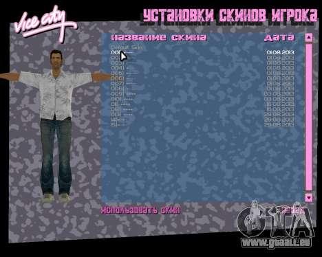 Weißes Hemd für GTA Vice City siebten Screenshot