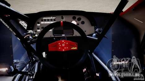 Suzuki Monster SX4 pour GTA 4 est une vue de l'intérieur