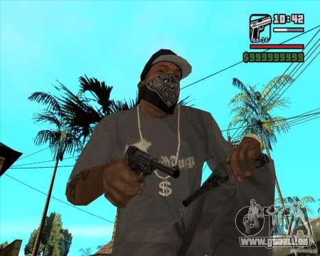 Pistolet Luger pour GTA San Andreas