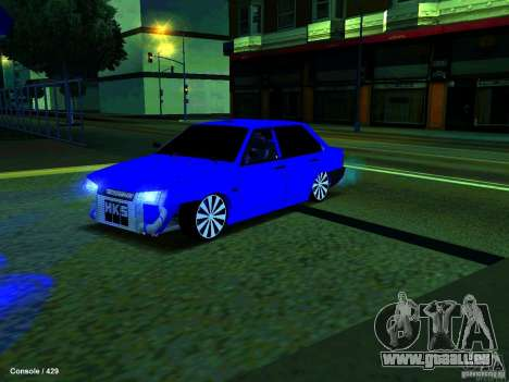 VAZ 21099 Turbo pour GTA San Andreas