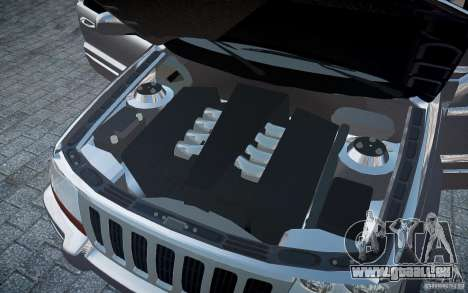 Jeep Grand Cheroke für GTA 4 Innen