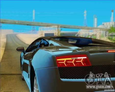 Lamborghini Gallardo LP560-4 für GTA San Andreas Seitenansicht