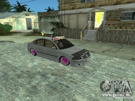 VW Passat B5 Dope pour GTA San Andreas
