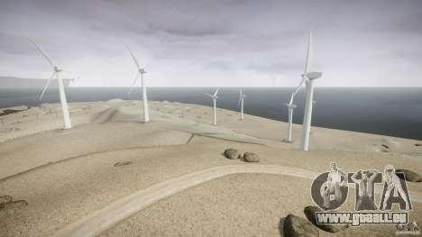 Wind Farm Island - California IV pour GTA 4 quatrième écran