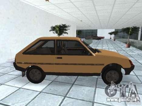 ZAZ Tavria 1103 pour GTA San Andreas laissé vue