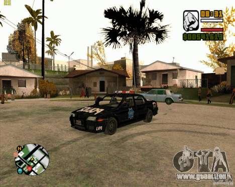 Voiture de police de NFS: MW pour GTA San Andreas