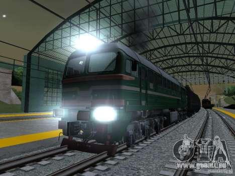 Eisenbahn-Änderung III für GTA San Andreas sechsten Screenshot