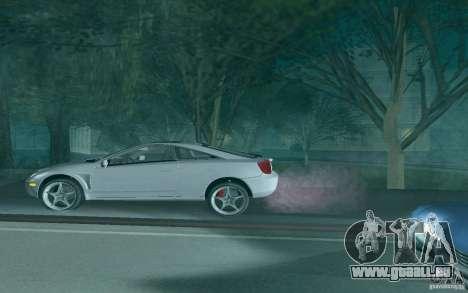 Toyota Celica pour GTA San Andreas moteur