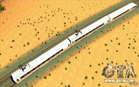 ICE3 Train für GTA San Andreas zurück linke Ansicht