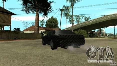 Elegy Carbon Style V 1.00 pour GTA San Andreas vue arrière
