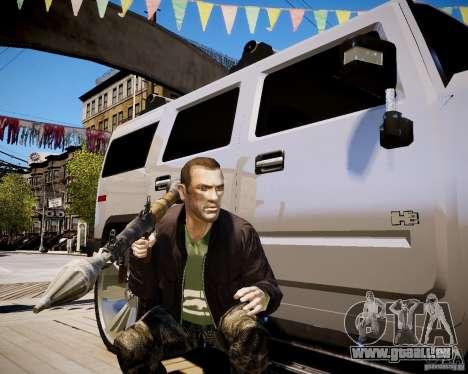 CoD Black Ops Hudson für GTA 4 achten Screenshot