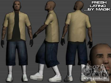 La nouvelle Latinos pour GTA: SA pour GTA San Andreas
